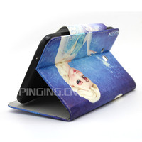 Leather tablet cover case for samsung Galaxy Tab 3 Lite 7' T110
