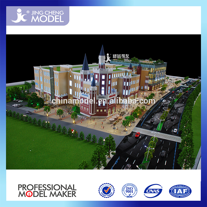 Business Scale/Architectural models For Real Estate/house building plans