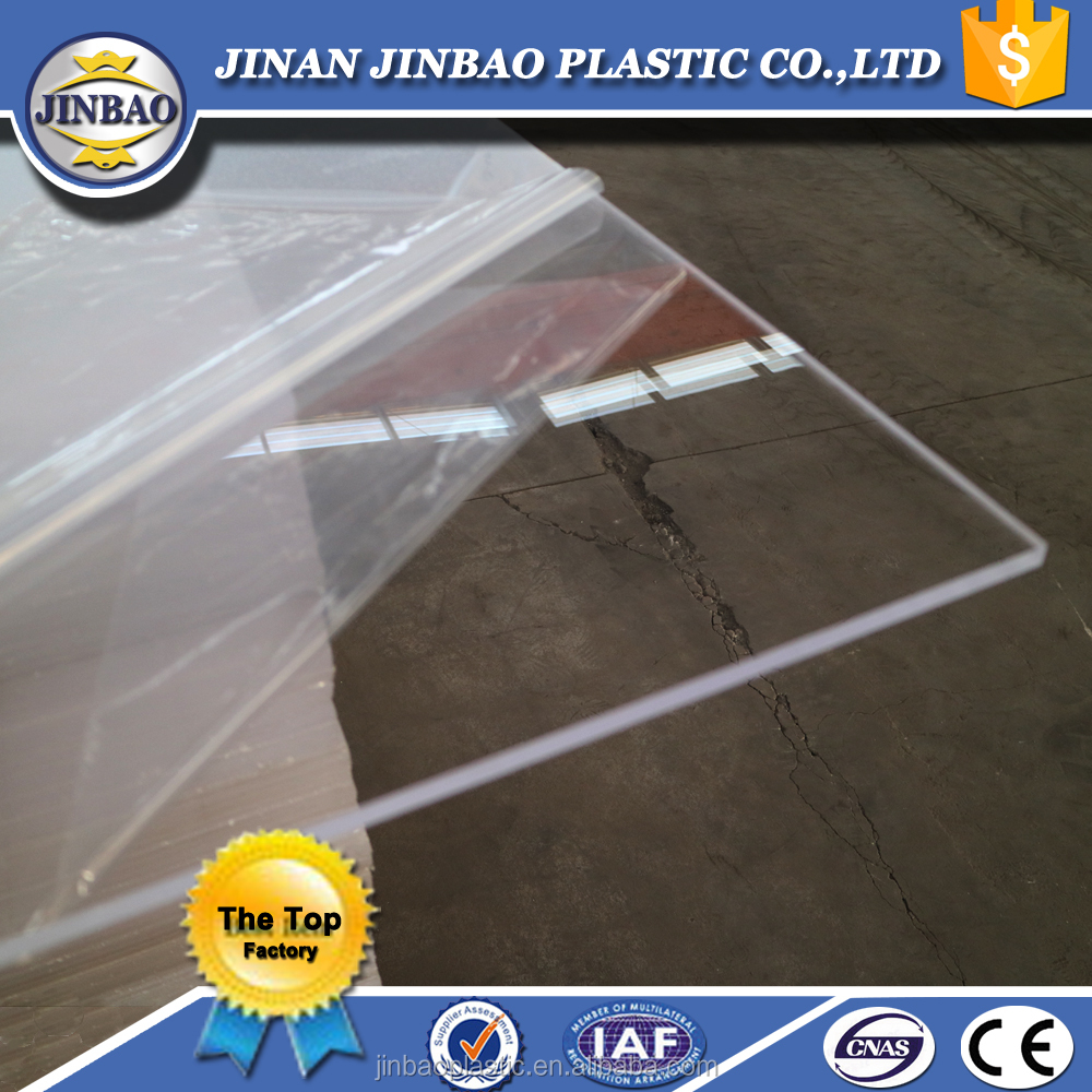 Factory hot sell 4x8 4x6ft sun board acrylic sheets clear color 3mm 5mm