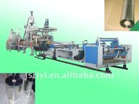 Recycled raw material PET sheet plastic extrusion machinery