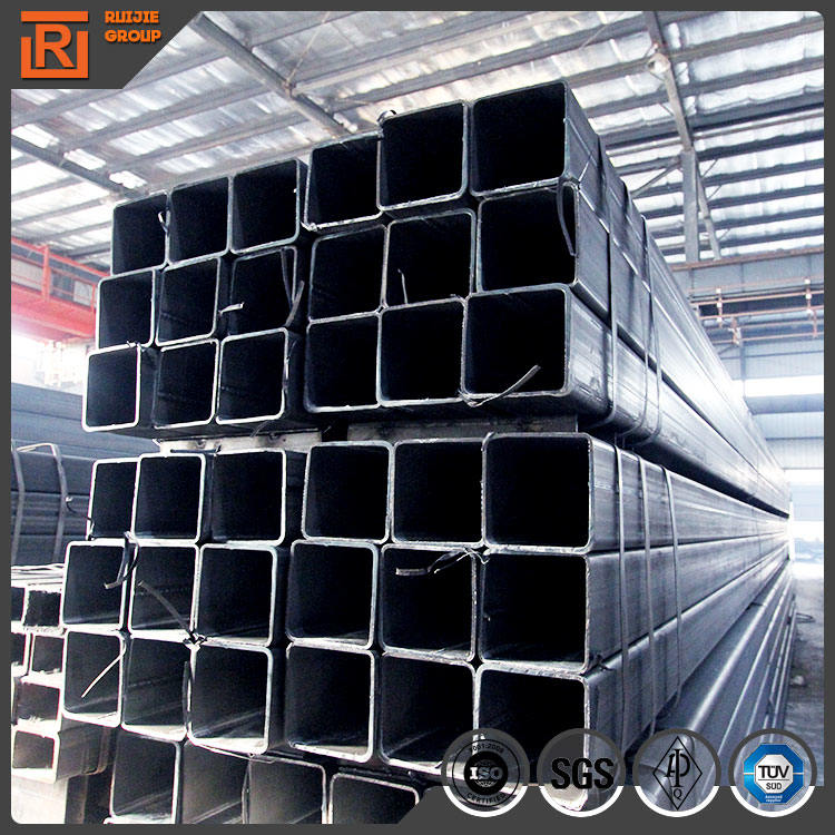 China Cold rolled Black Annealing rectangular/square steel pipe/tubes/hollow section