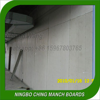 Panelized wall system, Calcium Silicate Board
