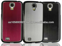 New Brushed Aluminum Hard Case With UV Coatting For The Sumsung Galaxy S4/i9500