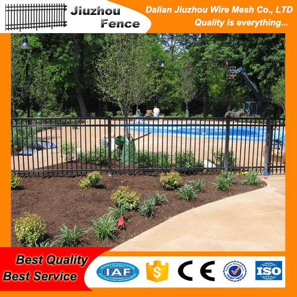 spray strength iron tube fence for garden