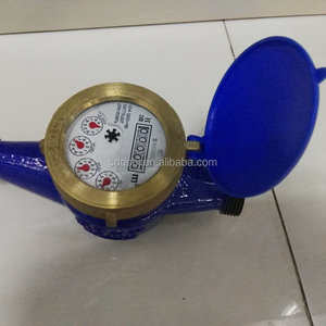 Factory Hot Sales DN15 Brass Multi-Jet Dry-Type Digital Cold Hot Water Meter