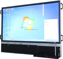 Touch sensitive screen monitor 2015 touch widescreen with visual presenter lcd smart 16:9 board