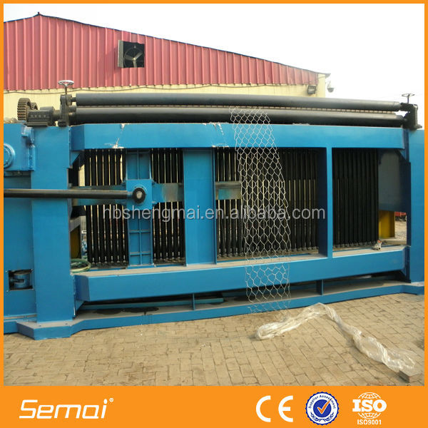 SEMAI New Design Automatic Galvanized Gabion Basket Weaving Machine