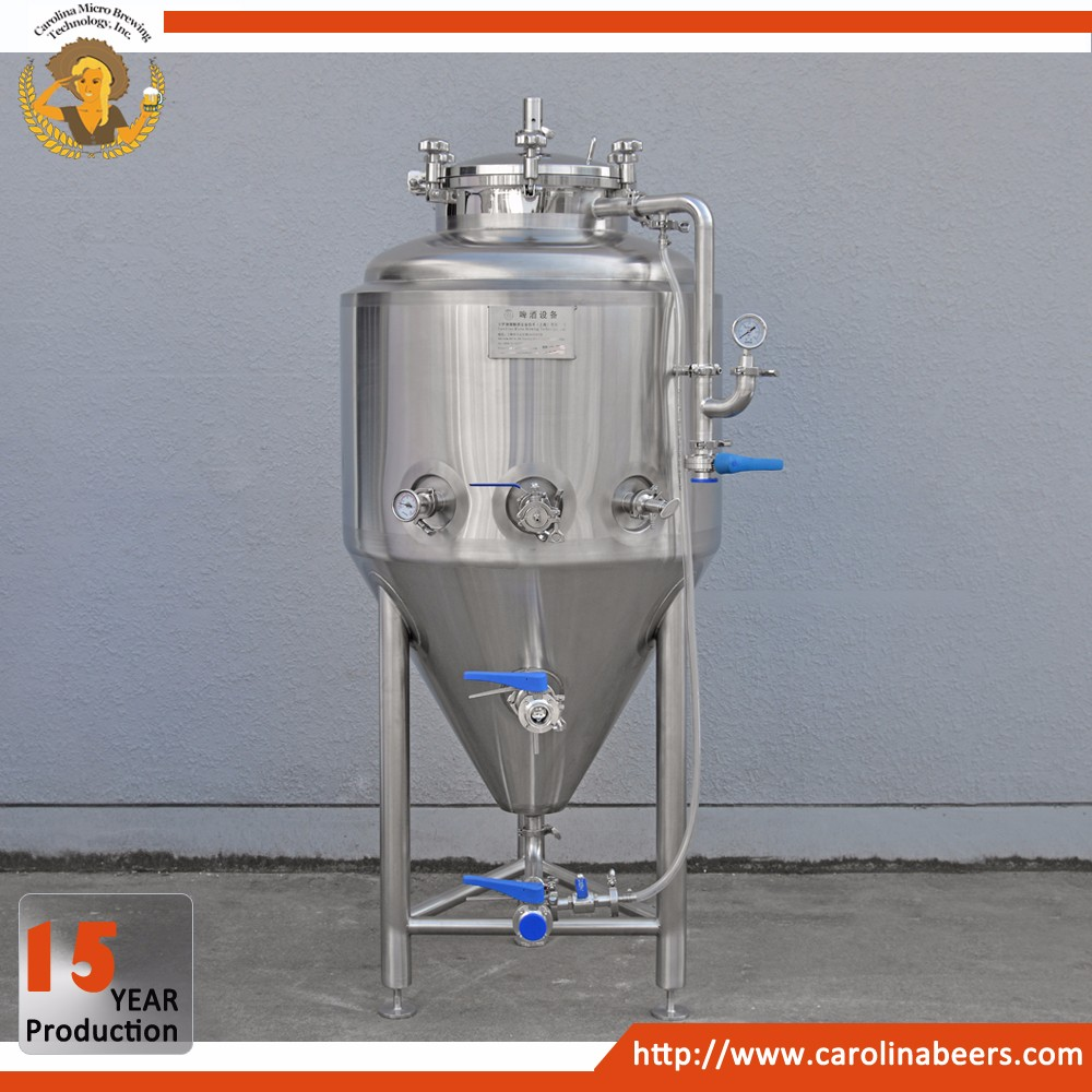 304 stainless steel beer brewing conical fermenter