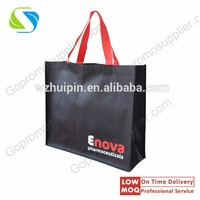 promotion gift PP non woven shopping bag with logo print