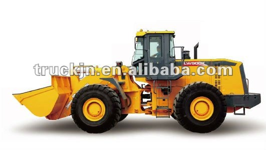 9T XCMG Wheel Loader LW900K with 5m3 Bucket Capacity