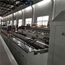 WPC PVC deco profile extrusion line SJSZ65/132 twin screw extrusion