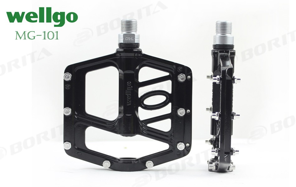 Wellgo 2016 Aluminum Bicycle Pedal For MTB