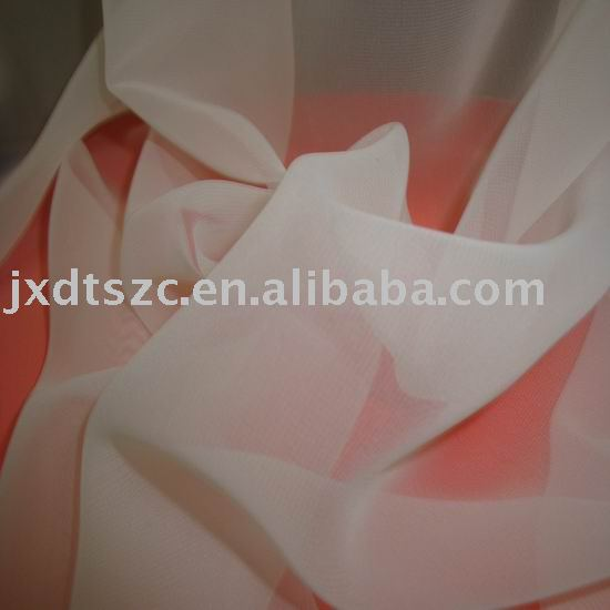 organza fabric(100% polyester)