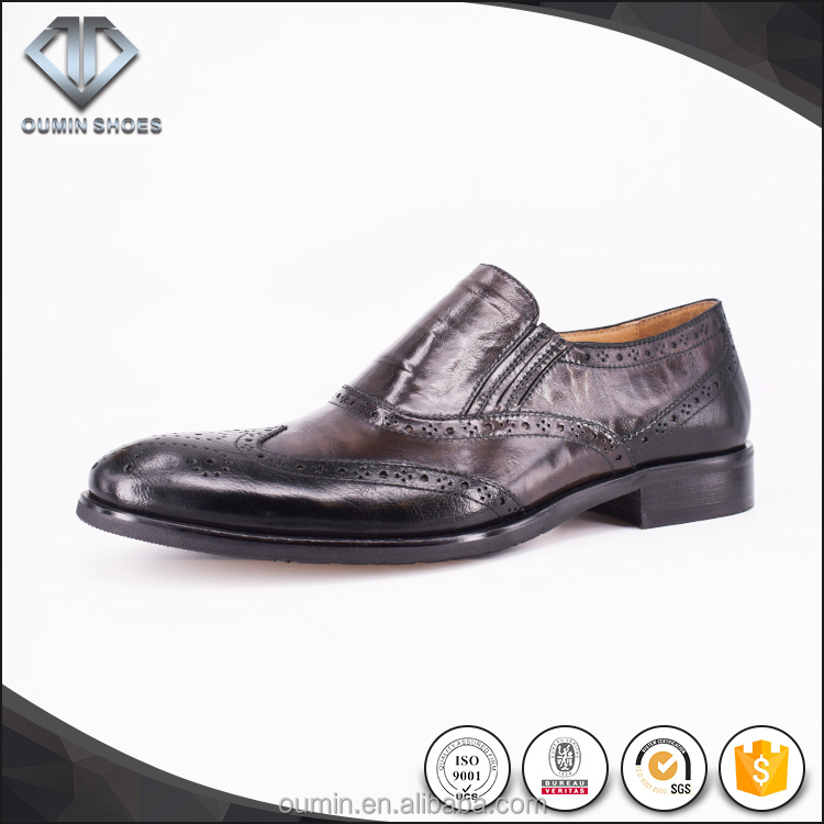 Hand made italian men genuine leather shoes 2016 new model best sell online
