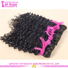 Hot Sale Unprocessed Wholesale Virgin Malaysian Remy Kinky Curly Human Hair Weft