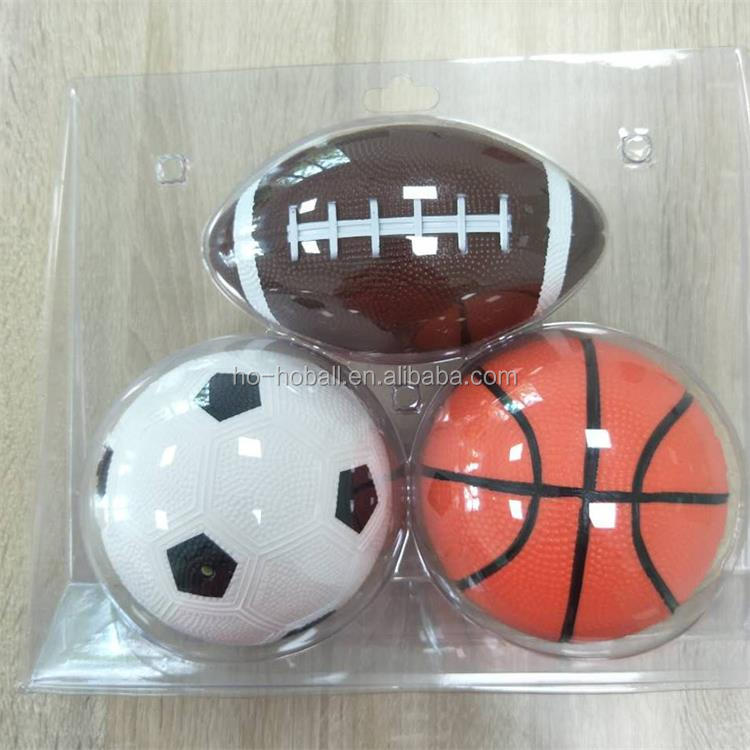 Sports balls set for baby football ball, soccer ball, basketball