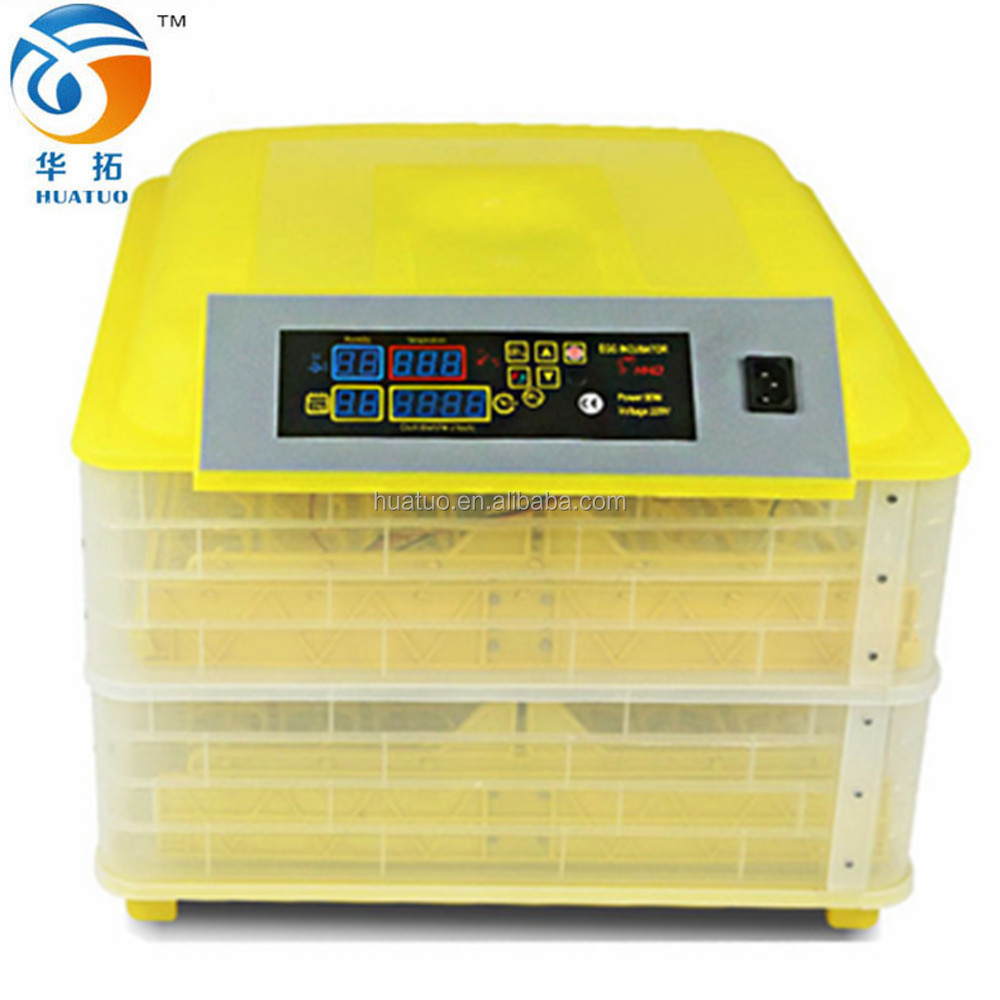 2013 newest design full-automatic ostrich chicks egg incubator poultry farms equipment from China (96 eggs)