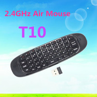 Flexible Six-axis Gyro- Sensor Fly or Air Mouse /2.4G wireless remote control for Android system, PC, Smart TV and IPTV Spec M11