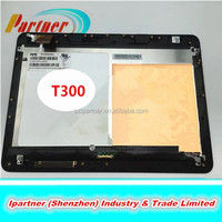 Half parts LCD assembly front panel for asus Transformer Book T300 B125HAN01.0