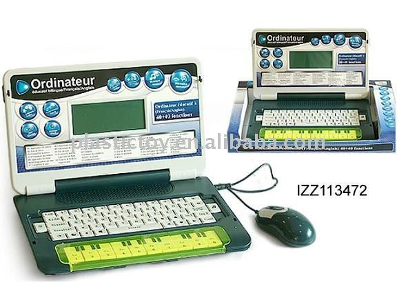 French & English learning laptop computer IZZ113472