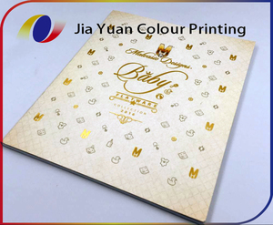 Softcover book hot stamping coated paper cheap paperback book printing