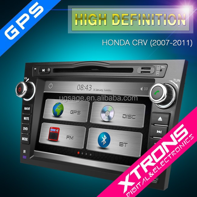 "Xtrons PX81CVH 8"" HD Touch Screen auto radio android with GPS Navigation for Honda CRV"