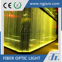 Factory Professional Diy Led Waterfall Optic Fiber Lighting Curtain For Wall Light