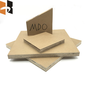 waterproof moistureproof MDO sign board sheets with painted or primed