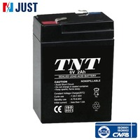 2015 6v 2ah rc sealed lead acid storage vrla battery
