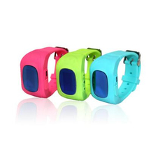 Kids GPS Tracker Watch SOS Emergency Alarm GSM SIM anti-lost remote children safe gps watch Q50 for Android & IOS Mobile Phone