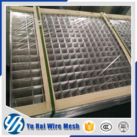1x1 pvc coated stainless welded wire mesh/welded mesh panel