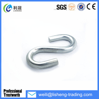 High quality galvanized metal s hook