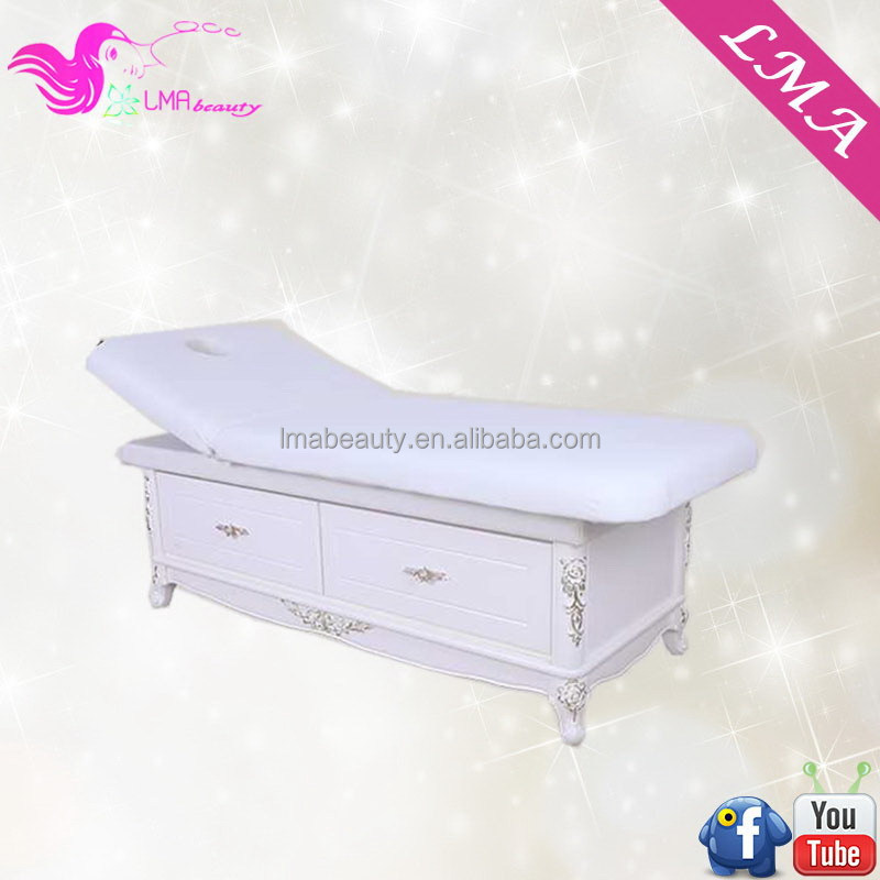 Luxury bottom price wooden spa bed furniture on sale MD49