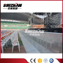 Strictly QC control pedestrian barrier traffic barricade metal road safety barriers