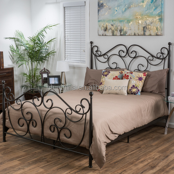 cheap wrought iron beds
