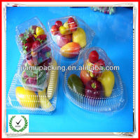 new designed disposable factory price plastic fruit tray