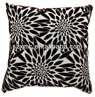 Digital printing sunflower design stretch cushion cover