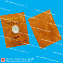 3g crystaal 2011 bubbly aluminum foil packaging bag/New design plastic packaging bag with ziplock