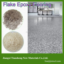 Morden Decorative Durable Flake Epoxy Flooring Paint