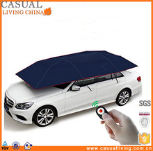 household Remote Control motorcycles exterior accessories Automatic car umbrella Tent Sun Shade Canopy Folded Portable