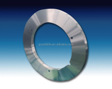 Tungsten carbide coil slitting circular blade for Silicon steel slitting line