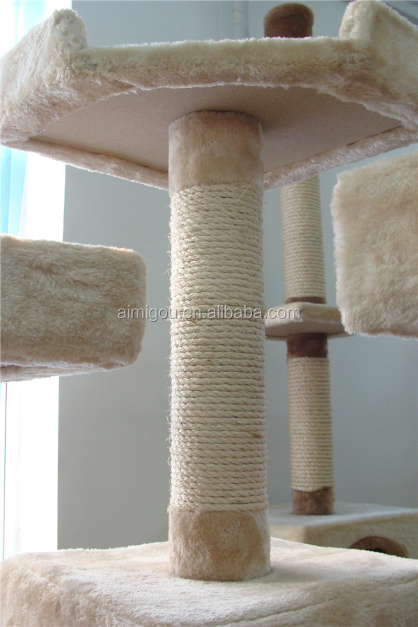 2015 cat condo & cat tree house with factory price