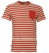 red white striped t-shirt