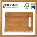 vegetable/pizza custom bamboo mini cutting boards
