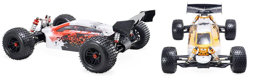 big size electric brushless rc buggy with full time 4wd off road and high speed rc car