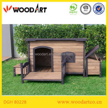 Popular Fashionable Wooden dog kennel house cage Hot Sale