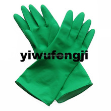 WJ39 40g Green household /latex hand malaysia manufacturer garden glove/cleaning latex gloves