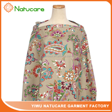 Large size flower wholesale adjustable breathable breast feeding cover