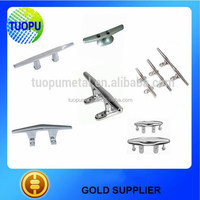 Tuopu marine boat accessories stainless steel boat cleat type yacht cleat price