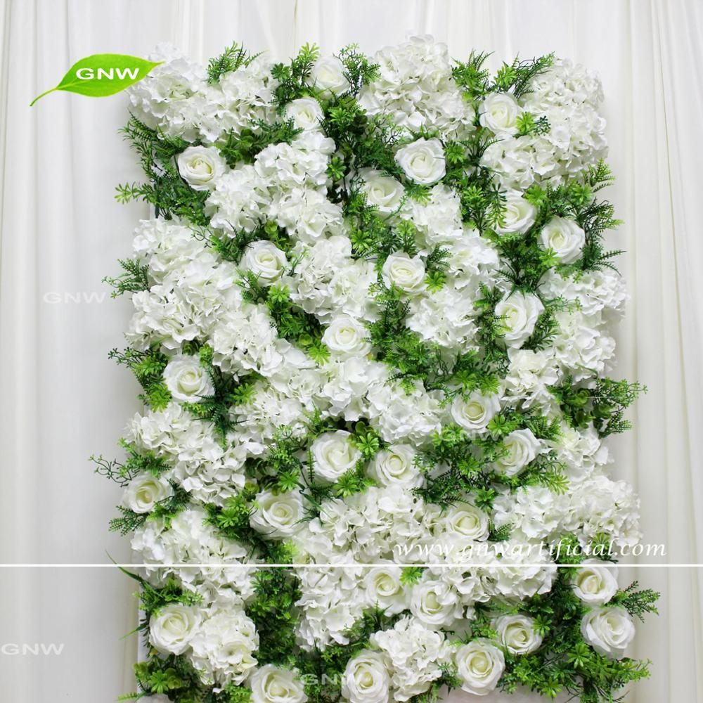 GNW CTRA-1705005 wholesale cheap wedding decoration white and purple artificial flower ball centerpieces for wedding decor